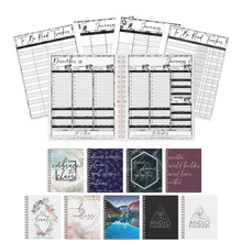 Load image into Gallery viewer, Book Blogger Weekly 2021 Planner (Pick Your Own Cover)