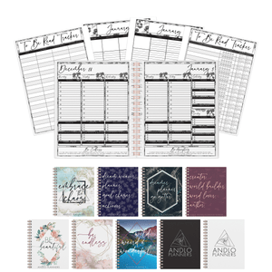 Book Blogger Weekly 2021 Planner (Pick Your Own Cover)