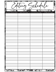 Editor Monthly 2021 Planner (Pick Your Own Cover)