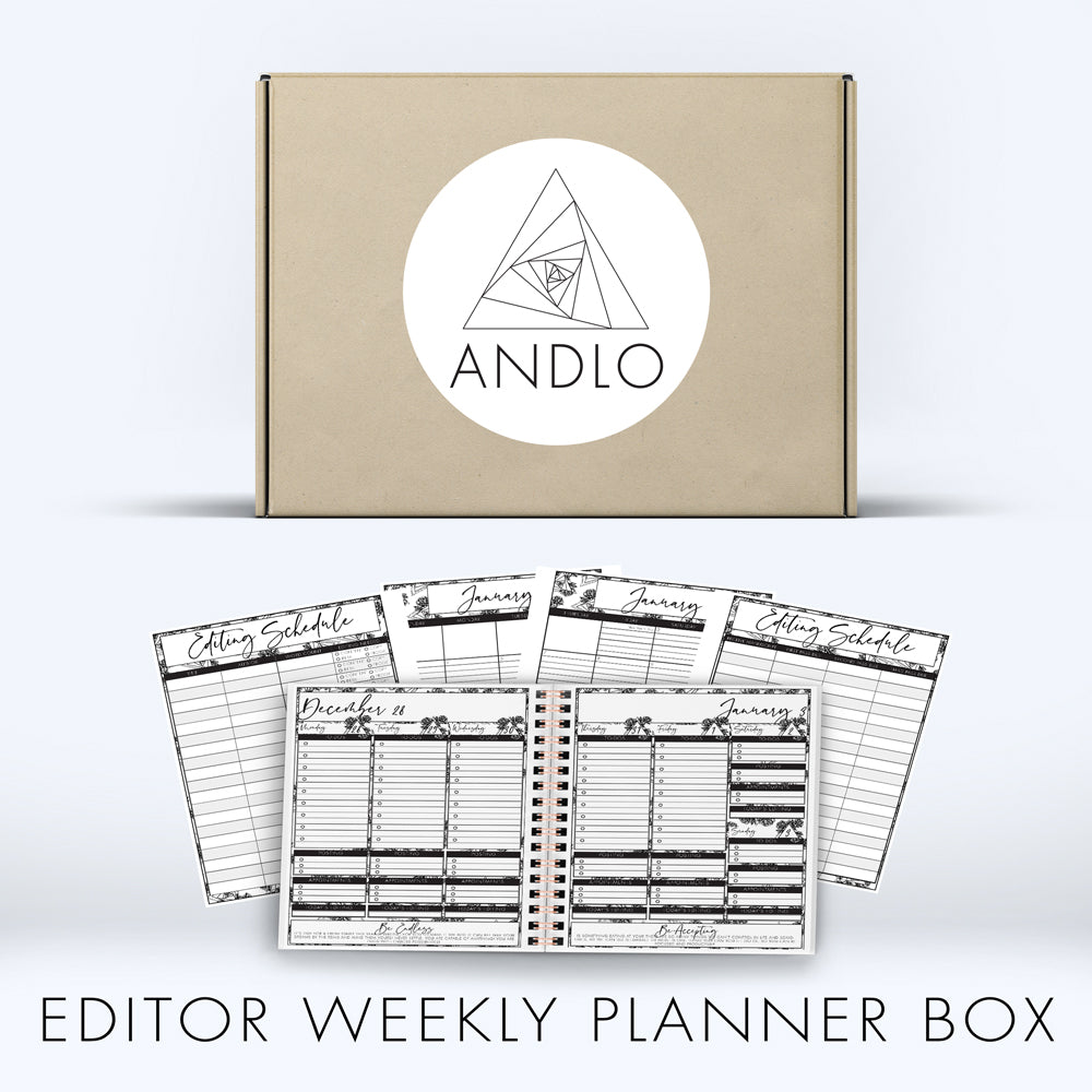 Editor Weekly Planner 2021 Box (Pick Your Own Cover)