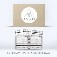 Load image into Gallery viewer, Everyday Daily Planner 2021 Box (Pick Your Own Cover)