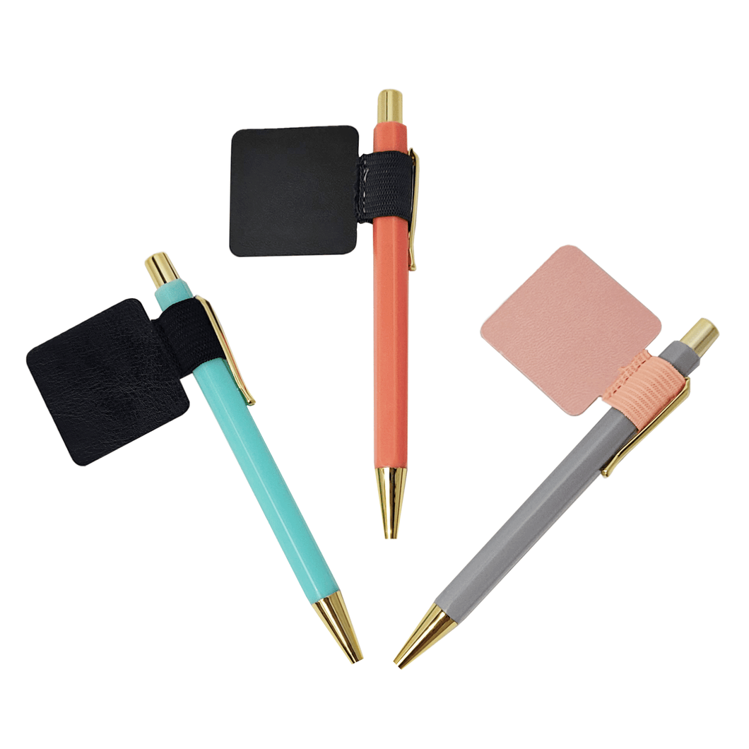 Adhesive Pen Holders
