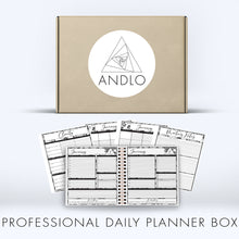 Load image into Gallery viewer, Professional Daily Planner 2021 Box (Pick Your Own Cover)