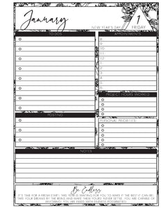 Professional Daily Planner 2021 Box (Pick Your Own Cover)