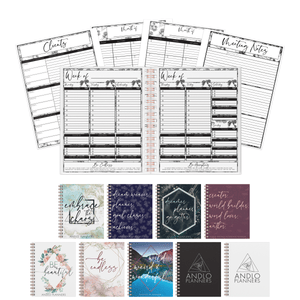 Professional Weekly Undated Planner (Pick Your Own Cover)