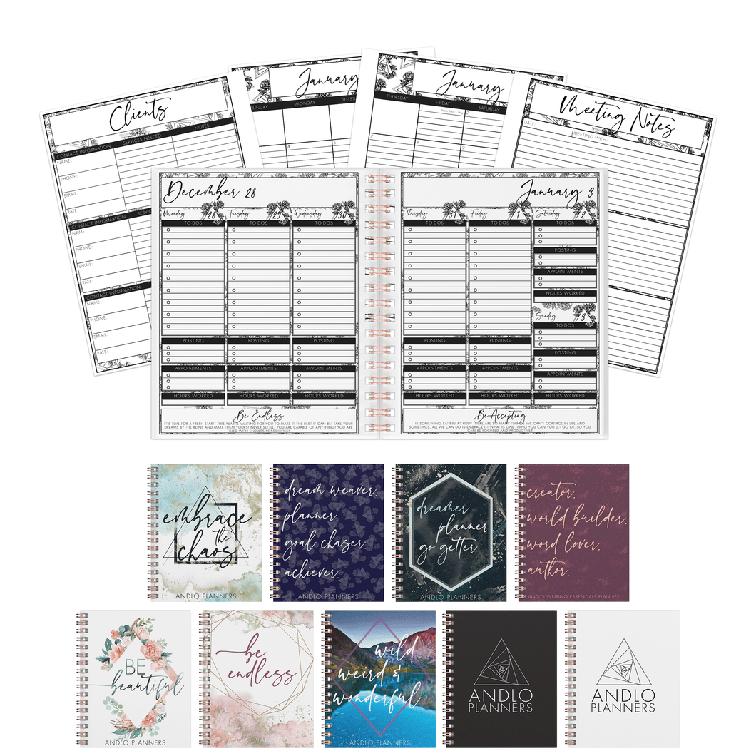 Professional Weekly 2021 Planner (Pick Your Own Cover)