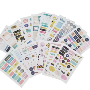 Be Colorful 500 Pack of Planner Stickers