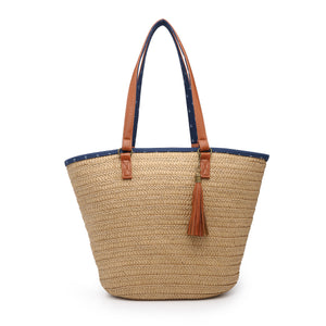 Beachworthy Seagrass Tote