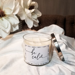 Be Calm 14.5oz Candle (French Lavender)