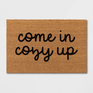 Come In Get Cozy Fall Winter Doormat