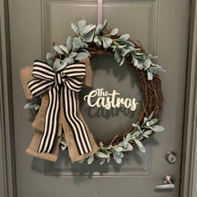 Load image into Gallery viewer, Farmhouse Custom Grapevine Wreath