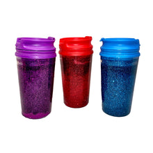 Load image into Gallery viewer, Personalizable Liquid Glitter Tumbler