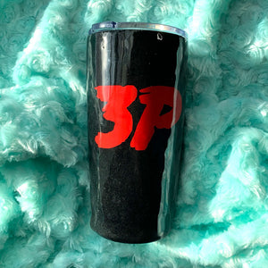 Custom Solid Glitter Insulated Tumbler