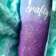 Load image into Gallery viewer, Custom Ombre Glitter Insulated Tumbler