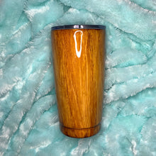 Load image into Gallery viewer, Custom Wood Grain Insulated Tumbler