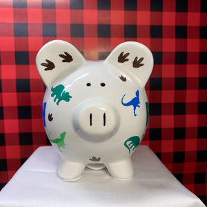 Custom Dinosaur Piggy Bank