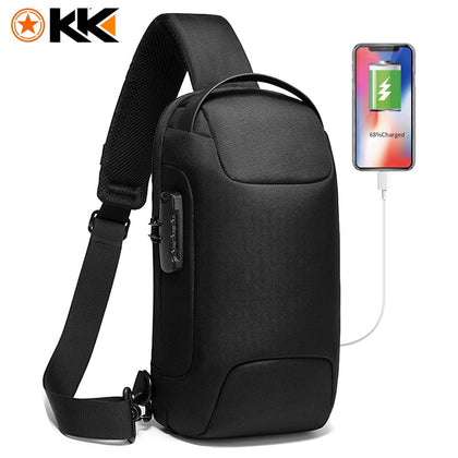 Multifunctional Anti-Theft Crossbody Bag