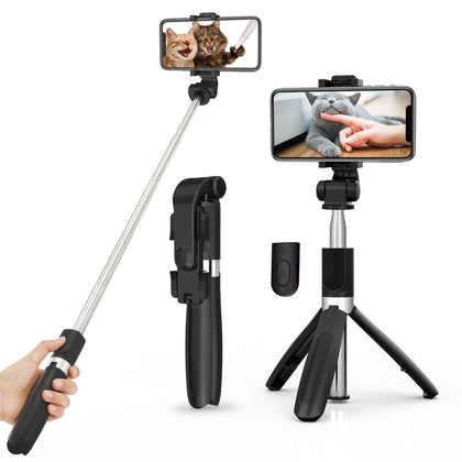 Wireless bluetooth Selfie Stick Tripod for IOS/Android Phone Foldable Tripods Monopods Universal For Gopro Sports Action Camera