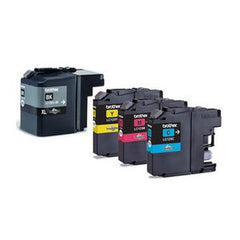 Brother LC125 genuine ink cartridges