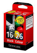 Lexmark no 16 and no 26 genuine Ink Cartridges