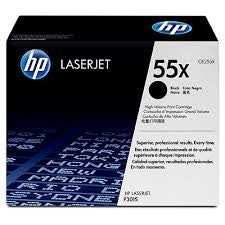 HP 55X Genuine Toner Cartridge - (CE255X)