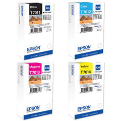 Epson T7011, T7012, T7013, T7014  genuine Ink Cartridges