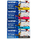 Brother TN135 Genuine Toner Cartridges