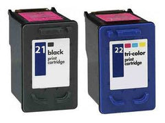 HP 21, HP 22  premium Ink Cartridges