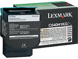 Lexmark C540H1KG Genuine Toner Cartridge