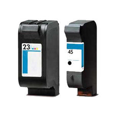 HP 23, HP 45  premium Ink Cartridges