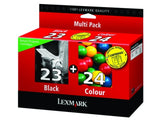 Lexmark no 23 and no 24 genuine Ink Cartridges
