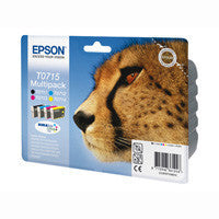 Epson T0711, TO712, T0713, T0714  genuine Ink Cartridges