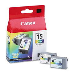 Canon BCi 15 genuine ink cartridges