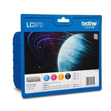 Brother LC970 genuine ink cartridges