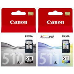 Canon PG 510, CL 511 genuine ink cartridges