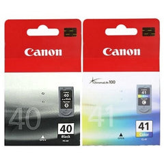 Canon PG 40 and CL 41 Genuine Ink Cartridge