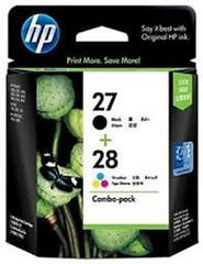 HP 27, HP 28  genuine Ink Cartridges