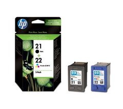 HP 21, HP 22  genuine Ink Cartridges