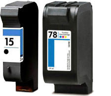HP 15, HP 78 Premium Ink Cartridge