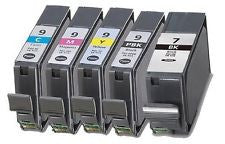 Canon PGi 7 and PGi 9 premium ink cartridges