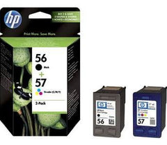 HP 56, HP 57  genuine Ink Cartridges
