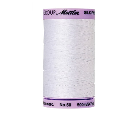 Mettler 9104 Silk-Finish Cotton Thread no. 50 - 2000