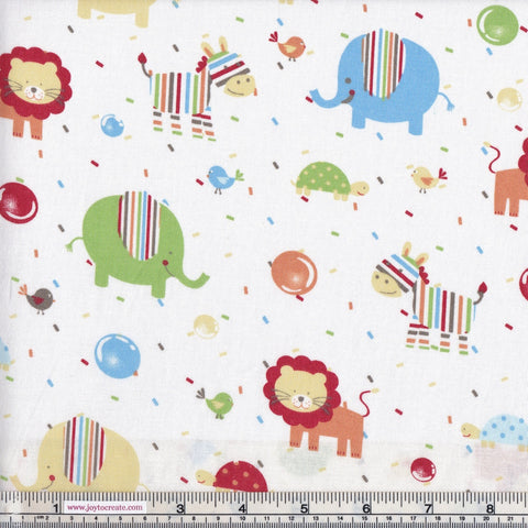 Sew Simple New Kids On The Block SSF47853 Nursery Animals