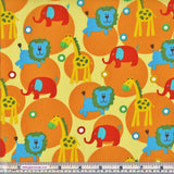 Sew Simple New Kids On The Block SSF47863 Yellow Multi Zoo