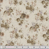 Sevenberry Linen/Cotton Mix 85127D3-2 Cream Shabby Chic Floral