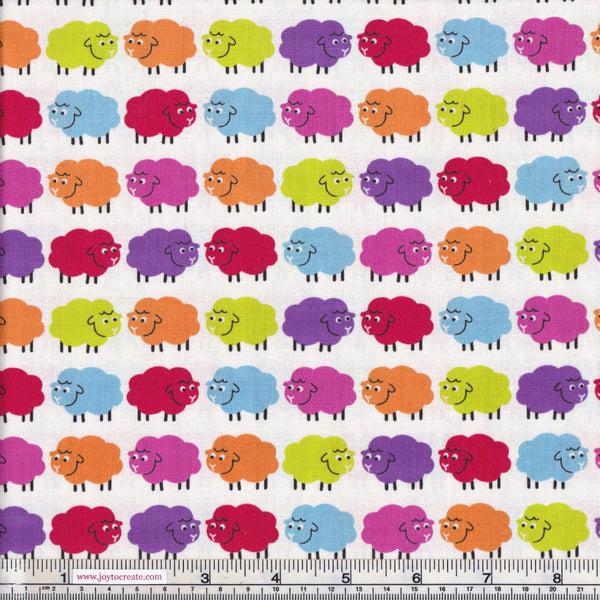 Nutex Baa Baa Bright Sheep 88510-101 Multicoloured