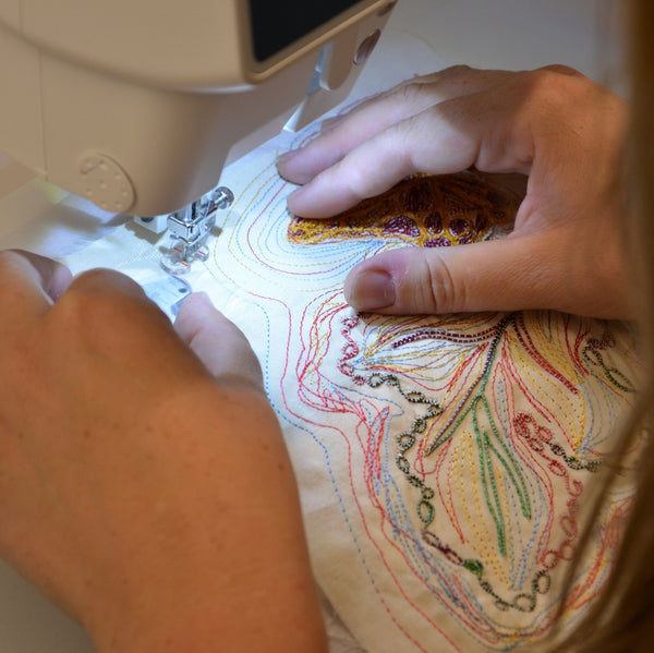 Free Motion Sewing Workshop