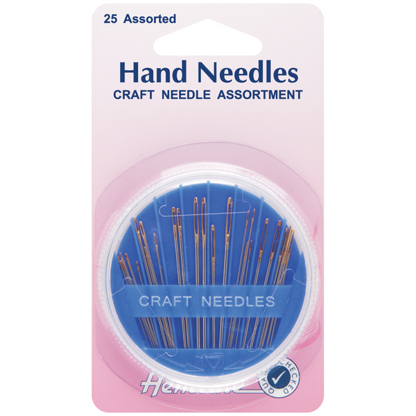 Hemline Hand Needles Craft Compact Assortment