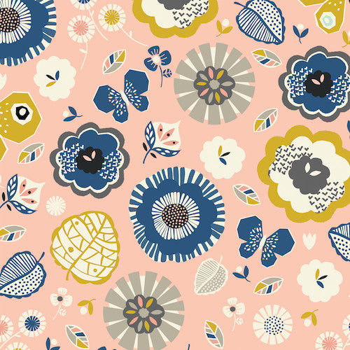 Dashwood September Blue SBLU1064 Main Floral