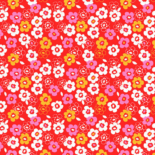 Dashwood Secret Garden SGND1126 Small Floral Red